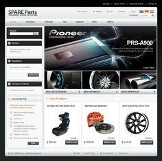 Auto Parts #CSS3 #HTML5 #JQuery & #Responsive #Magento Theme #32789
