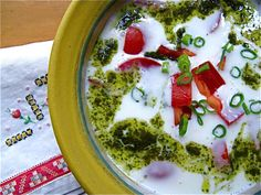 chilled buttermilk soup