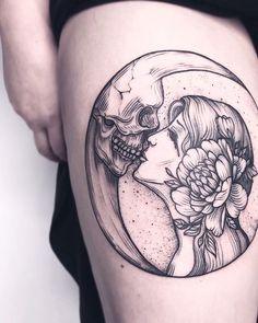 Jj Tattoos, Tatuajes Tattoos, Dream Tattoos, Skull Tattoos, Future Tattoos, Body Art Tattoos, Tattoos For Guys, Tatoos, Badass Tattoos
