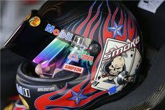 Tony Stewart w/helmet for 2013 Kobalt Tools 400