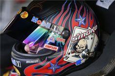 Tony Stewart w/helmet for 2013 Kobalt Tools 400