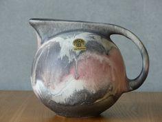 Vintage, German Ceramic, Ruscha, Vase Modell 366, fat lava, Kurt Tschörner, perfect condition von bothendsburning auf Etsy