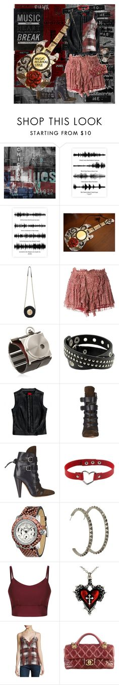 """""""Music Festival Style"""" by halebugg ❤ liked on Polyvore featuring The Artwork Factory, Marissa Webb, Dolce&Gabbana, Isabel Marant, Fob Paris, Glam Rock, Luv Aj, Lovers + Friends, Chanel and Valentino"""