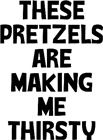 These Pretzels from http://LabelMeHappy.com - for Dad!