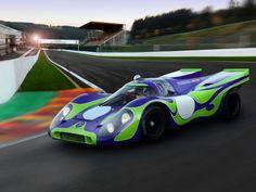 The 'Hippie' Porsche 917-021 | Drive a Porsche @ //www ... on porsche christmas cards, porsche f1, porsche 917k, porsche lmp1,