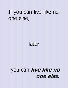 Motivation Station: Living Like No One Else