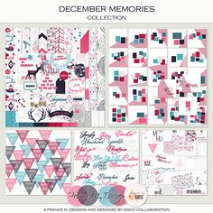 December Memories, a wonderful collection with designed by Soco <3
