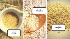 Zdravé vaření: Netradiční přílohy - jáhly, bulgur, kuskus Food, Bulgur, Essen, Meals, Yemek, Eten