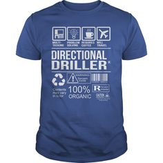 Awesome Tee For Directional Driller T-Shirts, Hoodies. SHOPPING NOW ==► https://www.sunfrog.com/LifeStyle/Awesome-Tee-For-Directional-Driller-104165089-Royal-Blue-Guys.html?id=41382