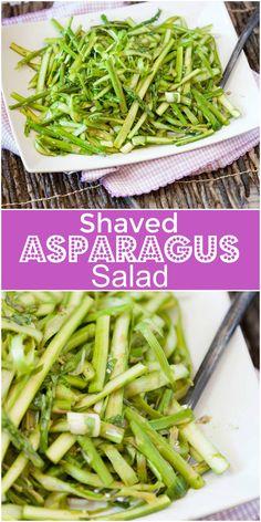 Asparagus Salad - vegetarian, vegan, healthy
