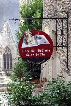 Librairie ~ Brulerie ~ Salon de The,      France