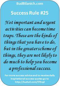 Career Success Rule #25