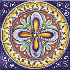 6 x 6 italian majolica tiles | beautiful Italian Majolica Ceramic Tiles handcrafted in Deruta, Italy ...