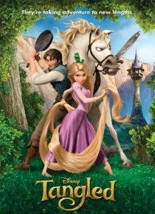 Tangled (Rapunzel) from Disney