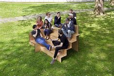 Stair-like stepped Furniture - Loves by Domus