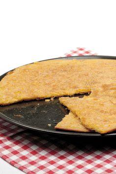 Farinata - #torta di #ceci #ricetta #vegetariano #food