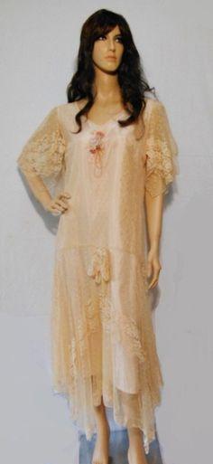 Vintage 1970s Victorian Wedding Dress Susan Lane's Country Elegance