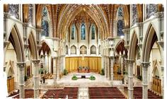 Holy Name Cathedral - Downtown Chicago - Mass times: Sunday:7:00, 8:15, 9:30, 11:00 a.m., 12:30, 5:15 p.m.