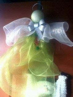 Easy Deco Mesh Angel #howto #tutorial