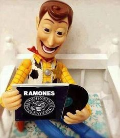 Find images and videos about rock, toy story and woody on We Heart It - the app to get lost in what you love. Dj Music, Music Stuff, Rock Music, Ramones, Rock Roll, Lps, Woody, Metallica, Mundo Musical