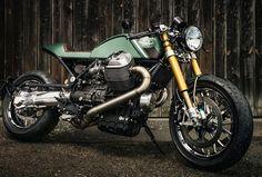Moto Guzzi Cafe Racer #motoguzzi #caferacer #motorcycles #bikesharing