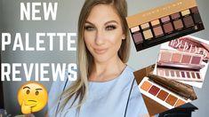 NEW PALETTE RELEASES + REVIEWS │ SOFT GLAM, BACKTALK & MINI SUNSET