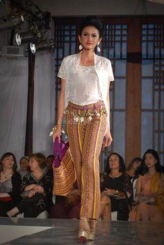 Batik Tenun Ikat Dress by Ramli