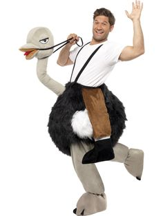 Hilarious Ostrich Fancy Dress Costume from the party animal range. Browse our Animal Costumes, Ostrich Costumes & Emu Costumes for same day dispatch.