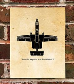 KillerBeeMoto: Limited Print Fairchild Republic A-10 Thunderbolt II Warthog Aircraft Print 1 of 100. The Fairchild Republic A-10 Thunderbolt II is an American twin-engine, straight wing jet aircraft developed by Fairchild-Republic in the early 1970s. It entered service in 1976, and is the only United States Air Force production-built aircraft designed solely for close air support, including attacking tanks, armored vehicles, and other ground targets.