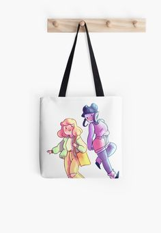 Marceline and Bubblegum (adventure time)