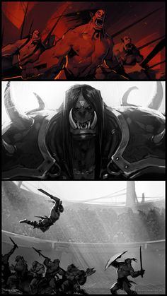 Check out 'Lords of War: Kargath' Illustrations by Laurel D. Austin! http://goo.gl/pCZqDp Laurel D. Austin has released several illustrations she created for Lords of War: Kargath, which is part of an animated series providing backstory for the upcoming World of Warcraft: Warlords of Draenor expansion.