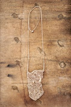 macrame necklace ~ siamic