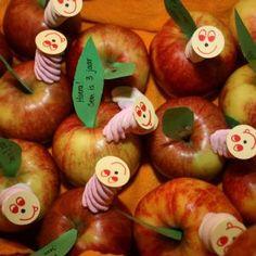 worm uit appel
