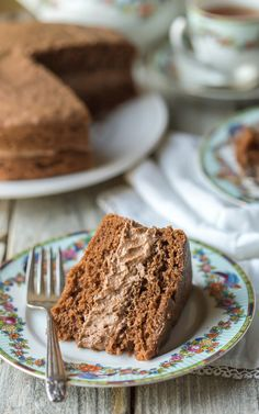 Really nice recipes. Every hour. • Best Ever Gluten Free Chocolate Cake | Photo... | via Tumblr