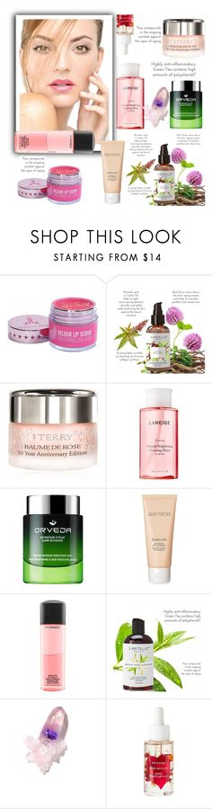 """Skincare"" by narminabasoffa ❤ liked on Polyvore featuring beauty, By Terry, Laneige, Laura Mercier, MAC Cosmetics and Winky Lux"