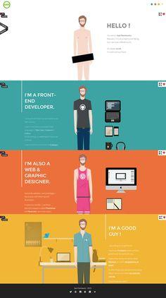 Sam Markiewicz – Flat UI Design Website