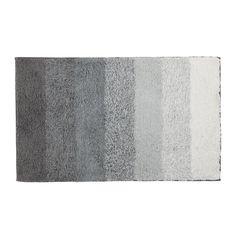Tapis de bain gris Gris - Technicolor - Les tapis de bain et caillebotis - Le linge de toilette - Salle de bains - Décoration d'intérieur - Alinéa