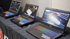 We go hands on with MSI's upcoming lineup of GTX 10-series gaming notebooks -> http://www.techradar.com/1326869  Just in time for the arrival of Nvidia's astonishing new mobile Pascal graphics cards which the GPU maker claims offer levels of graphical performance that are indistinguishable from their desktop counterparts Taiwanese hardware company MSI beat its competitors to the punch by being first to announce an incredibly comprehensive lineup of new GTX 10-powered gaming laptops.  For the…