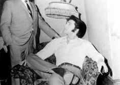 """Elvis On set """"The Trouble with Girls (and how to get into it)"""" 1969"""