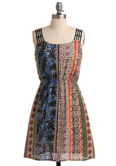 Psychedelic Songwriter Dress