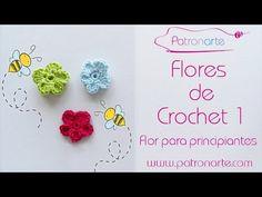 Hola Patronartistas! hoy aprendemos a tejer Flores de Crochet. Para empezar vamos a tejer una flor de crochet super sencilla, ideal para principiantes. Pero
