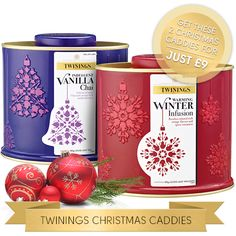 Vanilla Chai & Winter Infusion Rooibos Tea for £9 | Christmas Tea Gifts | Twinings Online Tea Shop