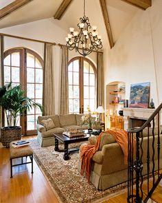 Los Altos Living Room traditional living room