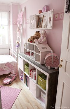 I can't wait to have a little girly! This room is adorable!