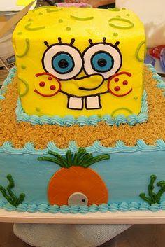 Sponge Bob Square Pants Birthday Cakes Pinterest Sponge bob