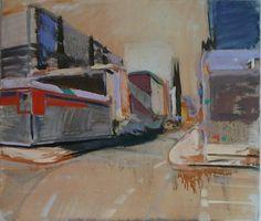 Christophe Wils - Olie op doek - Urban Rhythm Pt. II Les Oeuvres, Urban, Painting, Artist, Painting Art, Paintings, Draw