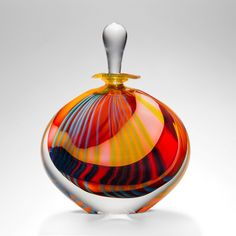 Unique Perfume Bottle | Pink 'Paradiso Stoneform' By Peter ...
