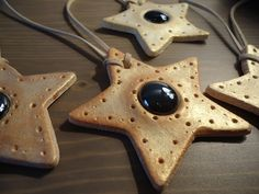 How to make Salt Dough Yule Ornaments. I remember making these when I was little.