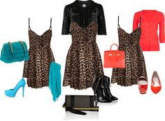 """""""Leopard Lady"""" by wendycrummie on Polyvore"""