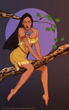 #04 Pocahontas by ~orangesteps on deviantART